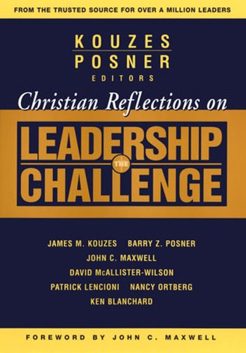 Christian Reflections on the Leadership Challenge   2004 edition cover