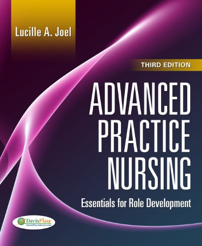Advanced Practice Nursing Essentials of Role Development 3rd 2013 (Revised) 9780803627857 Front Cover
