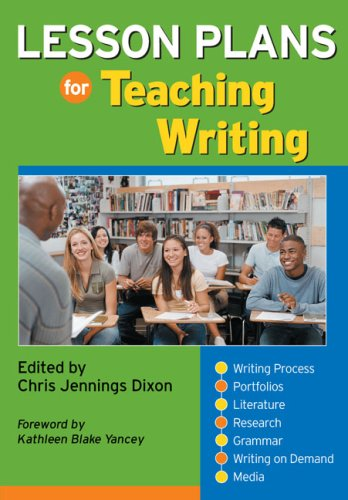 Lesson Plans for Teaching Writing 1st 2007 edition cover