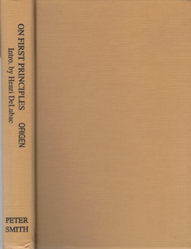 On First Principles  N/A edition cover