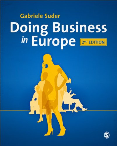Doing Business in Europe  2nd 2011 edition cover