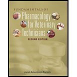 Fundamentals of Pharmacology for Veterinary Technicians (Book Only)  2nd 2011 edition cover