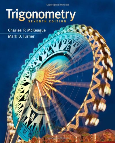 Trigonometry  7th 2013 edition cover
