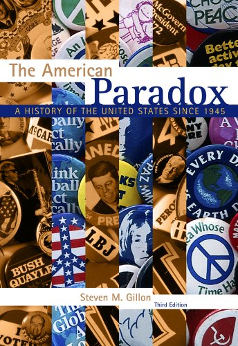 American Paradox A History of the United States Since 1945 3rd 2013 edition cover