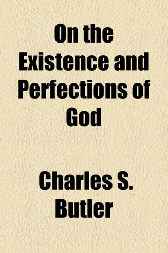 On the Existence and Perfections of God  2010 edition cover