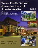 Texas Public School Organization and Administration 2014 14th (Revised) edition cover