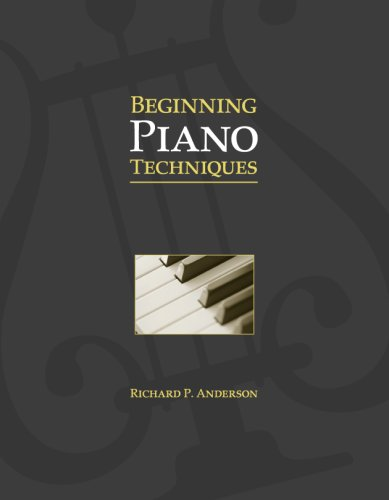 Beginning Piano Techniques   2007 edition cover