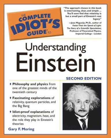 Complete Idiot's Guide� to Understanding Einstein  2nd 2004 edition cover