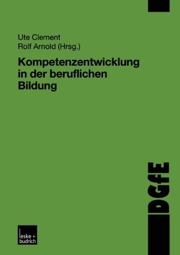 Kompetenzentwicklung in der Beruflichen Bildung   2002 9783810033857 Front Cover