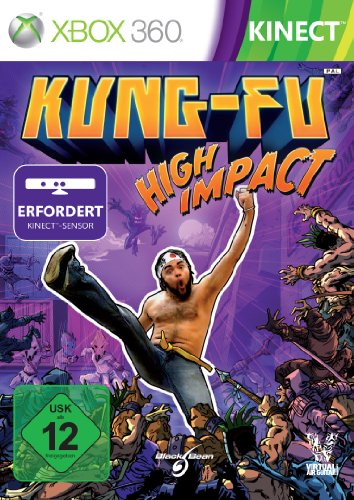 Kung Fu High Impact Xbox 360 artwork