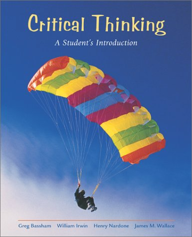 Critical Thinking A Student's Introduction with Critical Thinking PowerWeb  2002 edition cover