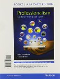 Professionalism Skills for Workplace Success, Books a la Carte Edition Plus NEW MyStudentSuccessLab 4th 2016 edition cover
