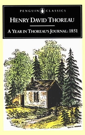 Year in Thoreau's Journal 1851 N/A edition cover