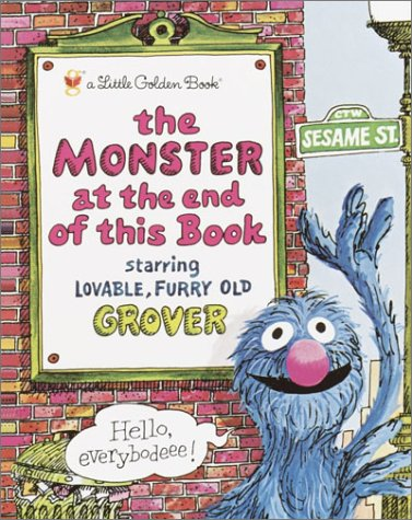 Monster at the End of This Book   1997 9780307010858 Front Cover