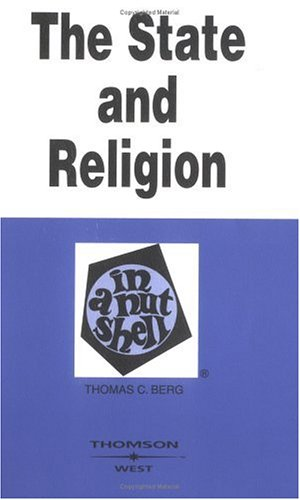 State and Religion in a Nutshell  2nd 2004 (Revised) edition cover