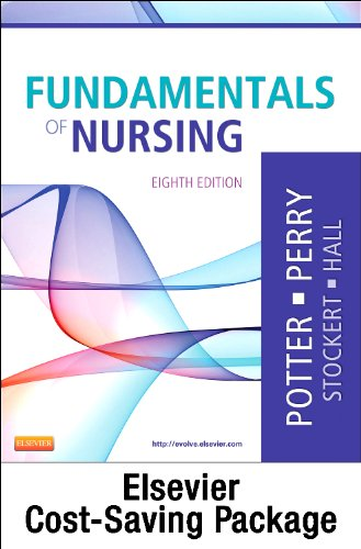 Fundamentals of Nursing Textbook and Mosby's Nursing Video Skills Student Version DVD 4e Package  8th edition cover