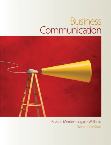 Business Communication  7th 2008 edition cover