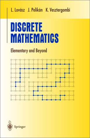 Discrete Mathematics Elementary and Beyond  2003 edition cover