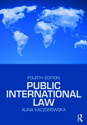Public International Law  4th 2010 (Revised) edition cover