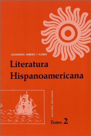Literatura Hispanoamericana Revised V2   1970 (Revised) edition cover