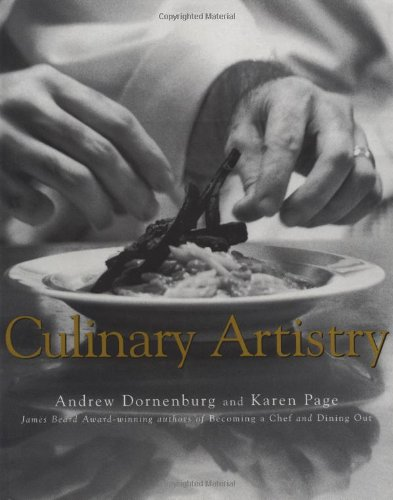 Culinary Artistry   1996 edition cover