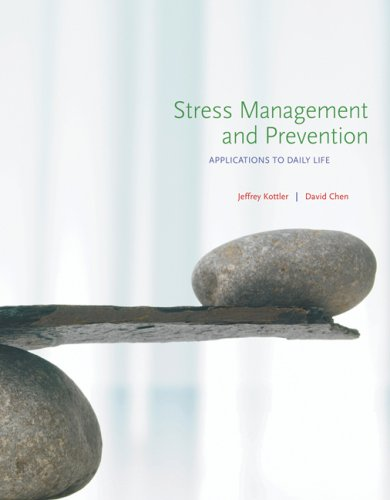 Stress Management and Prevention Applications to Daily Life  2008 9780495117858 Front Cover