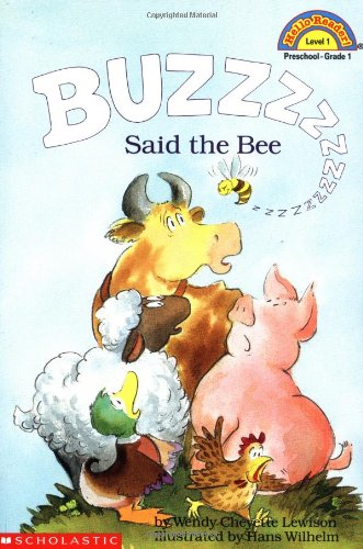 Buzz Said the Bee  97th 9780590441858 Front Cover