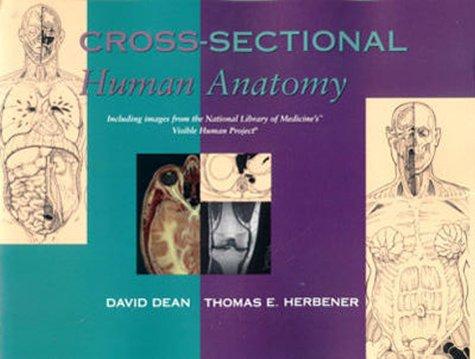Cross-Sectional Human Anatomy   2000 edition cover