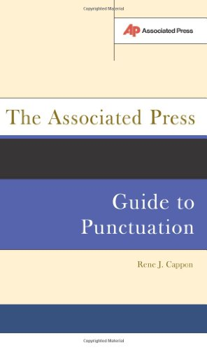 Associated Press Guide to Punctuation   2003 edition cover