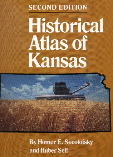 Historical Atlas of Kansas  2nd (Revised) edition cover