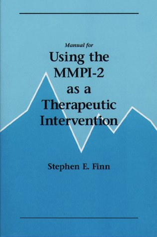 Manual for Using the MMPI-2 as a Therapeutic Intervention  N/A edition cover