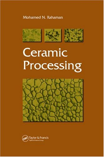 Ceramic Processing   2006 edition cover