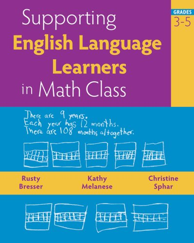 Supporting English Language Learners in Math Class, Grades 3-5   2008 edition cover