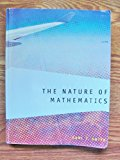 NATURE OF MATHEMATICS >CUSTOM<          N/A 9781133357858 Front Cover
