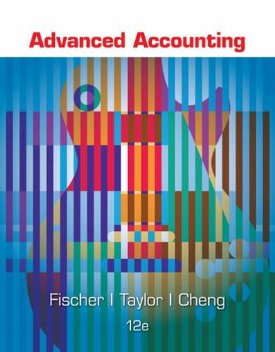 Advanced Accounting:  12th 2015 edition cover