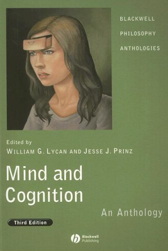 Mind and Cognition An Anthology 3rd 2008 (Revised) edition cover