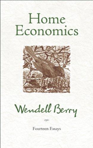 Home Economics Fourteen Essays  2009 edition cover