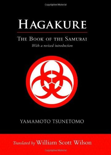 Hagakure The Book of the Samurai  2012 edition cover