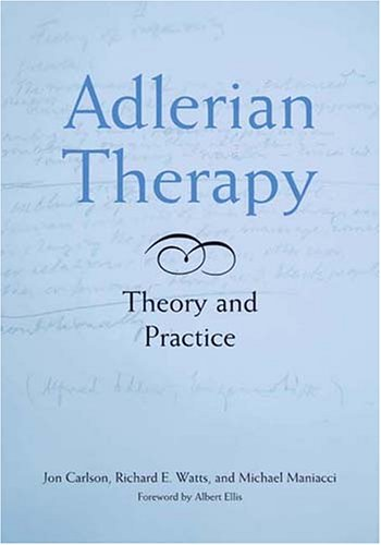 Adlerian Therapy Theory and Practice  2005 edition cover
