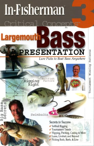 Critical Concepts 3 : Largemouth Bass Presentation N/A edition cover