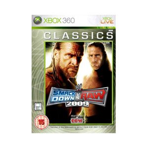 WWE Smackdown Vs. Raw 2009 - Classics Edition (Xbox 360) Xbox 360 artwork
