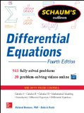 Differential Equations  4th 2014 edition cover