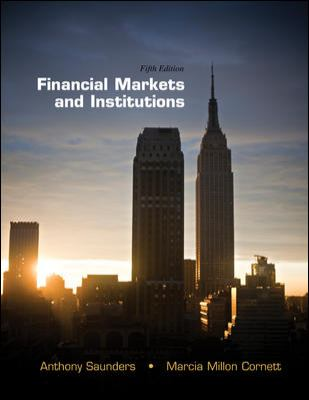 Loose-Leaf Financial Markets and Institutions  5th 2012 edition cover