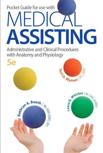 Pocket Guide for Medical Assisting Administrative and Clinical Procedures with Anatomy and Physiology 5th 2014 edition cover