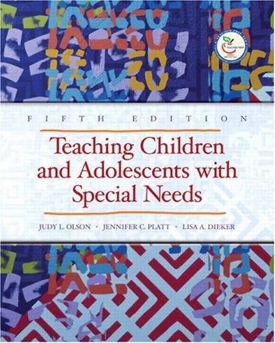 Teaching Children and Adolescents with Special Needs  5th 2008 edition cover