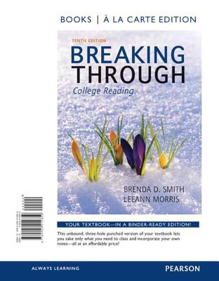 Breaking Through, Book a la Carte Edition  10th 2013 9780205212859 Front Cover