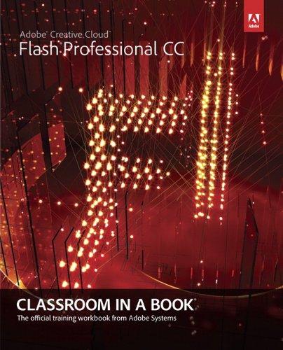 Adobe Flash Professional CC Classroom in a Book  2013 edition cover