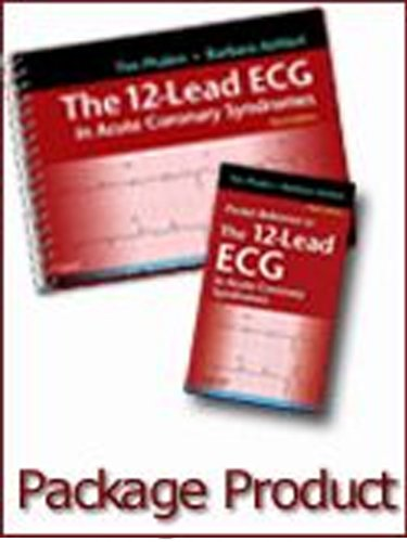 12-Lead ECG in Acute Coronary Syndromes - Text and Pocket Reference Package  3rd 2012 edition cover