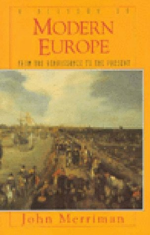 History of Modern Europe   1996 9780393968859 Front Cover