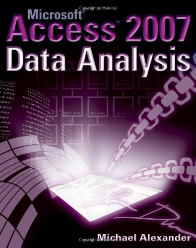 Microsoft Access 2007 Data Analysis   2007 edition cover